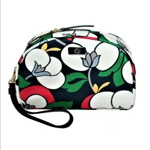 Kate Spade Dawn Breezy Floral Dome Cosmetic case